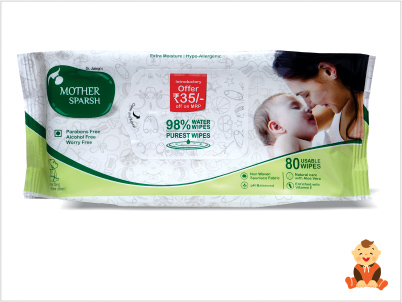Mother-Sparsh-98%-Water-Wipes